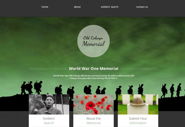 Old Colwyn WW1 Memorial
