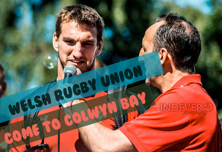 Welsh Rugby Union Come To Colwyn Bay