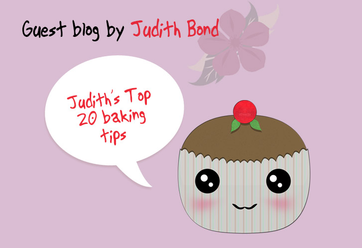 Guest Blog By Judith Bond